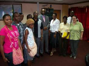 Sharena meeting with the Ministry of Health