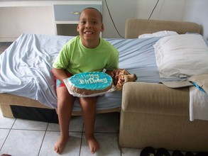 Destin's birthday cake from the IHC dove club