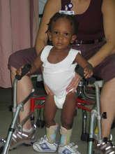 Casey was born with spina bifida
