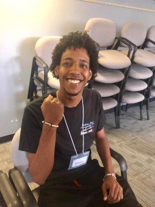 Wesley- Community Youth Leader Incubator graduate