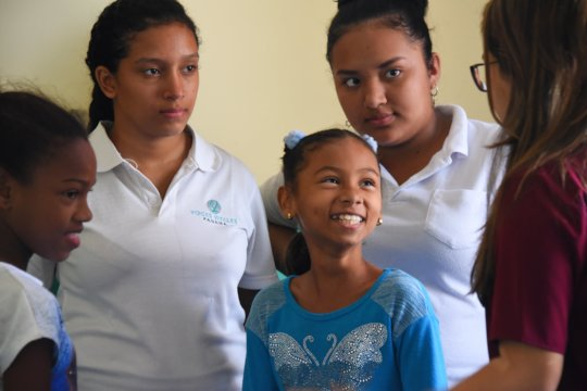 Our Las Claras Students as Leaders for the Younger