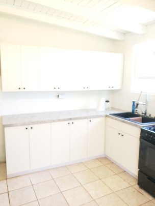 Finally! A new kitchen, thanks to the LTRG and GG!