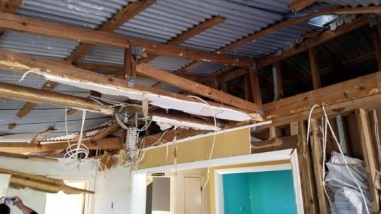 Rebuilding efforts continue more than a year later