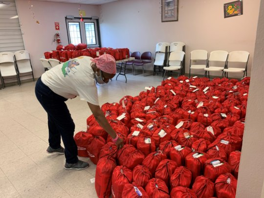 AARP &the LTRG- helping seniors with health kits!