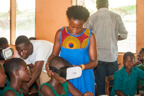 Promote STEM in Ghana using Virtual Reality Lab