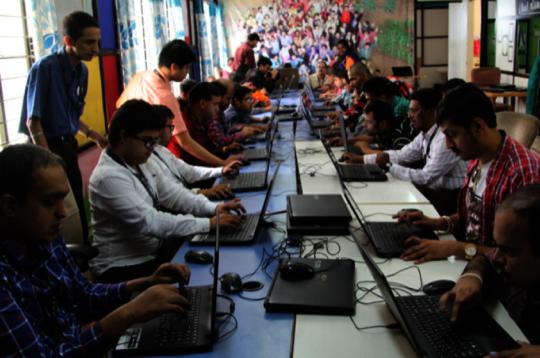 ACC peers at work before the Pandemic