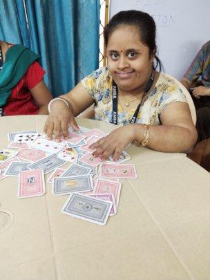 Deva Priya at work !