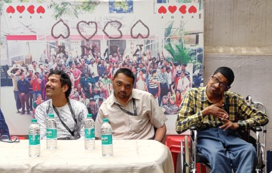 Sachin and Team- Chief Guest for an Event at AMBA