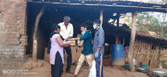 Ration kit distribution