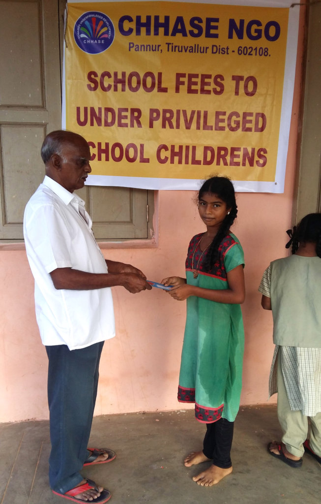 Orphan girl child need of education support