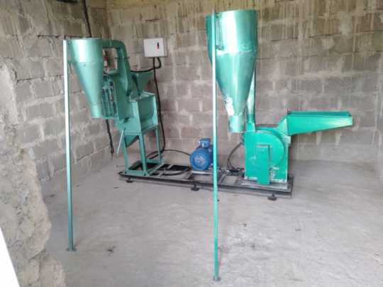 Posho mill to generate income for the school