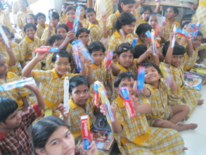 hygine kit distribution