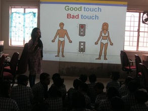 Safe unsafe touch session in Maharashtra