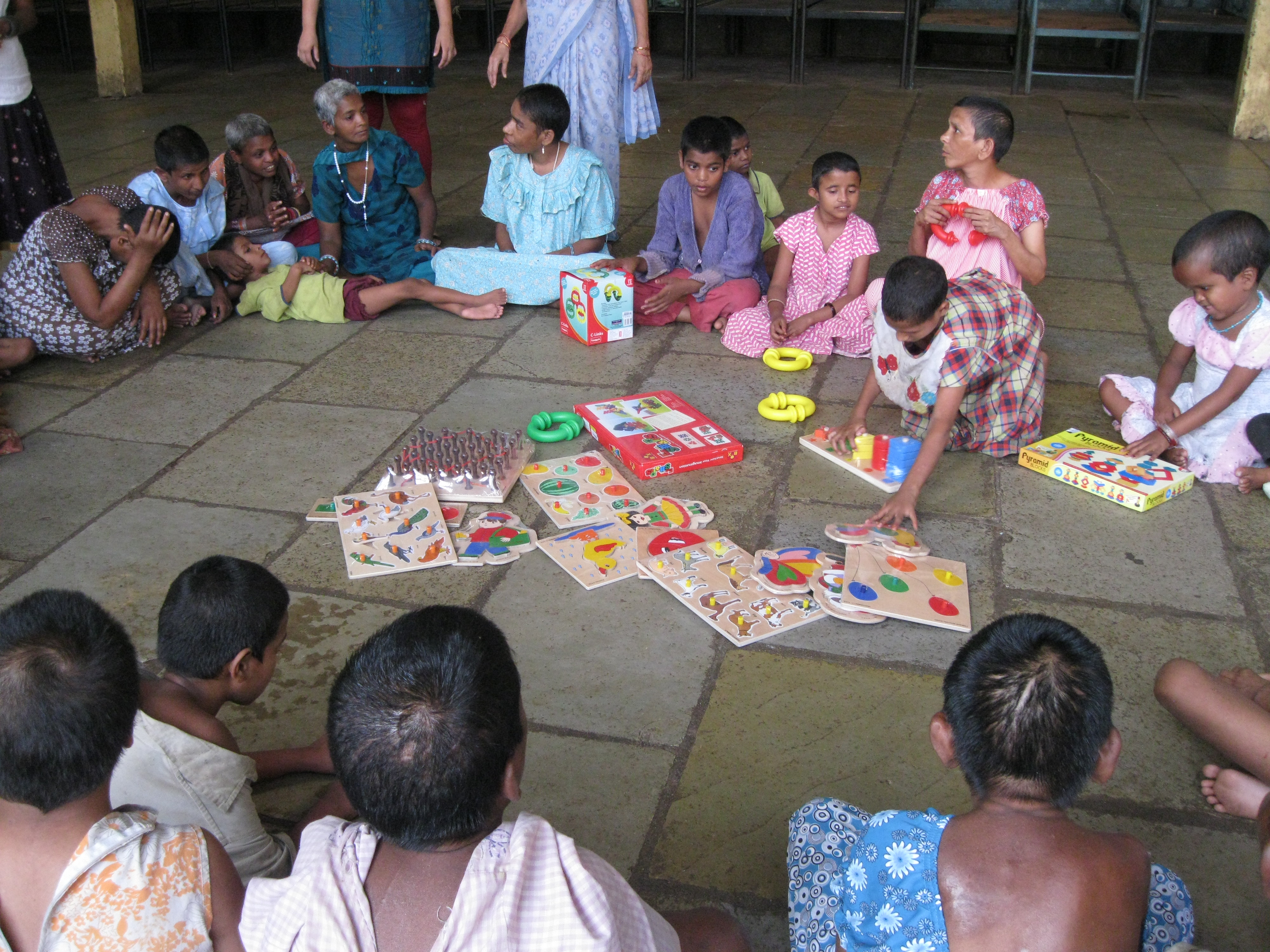 CSA supports the children in special need. the newly started home for sp. nd. kids in Pune, didn