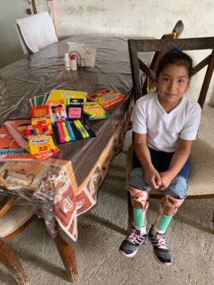 Lupita Contreras a Special need girl