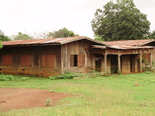 A school badly in need of repair