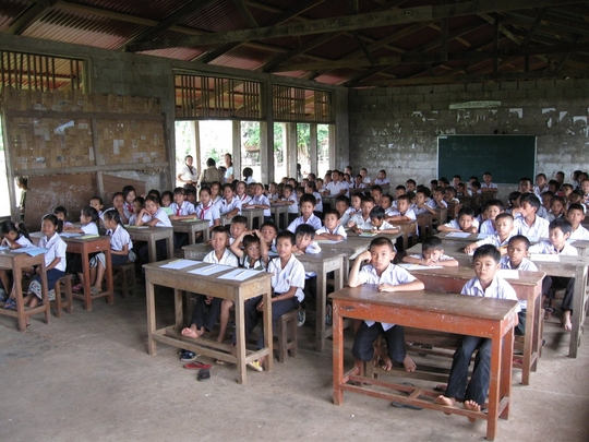 School Renovation in Laos