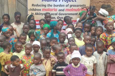End malaria, malnutrition, save a child in Nigeria