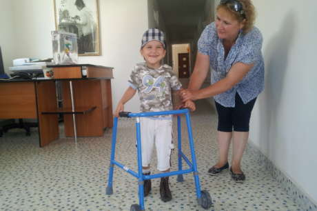 Disability therapies for 1,300 children in Moldova