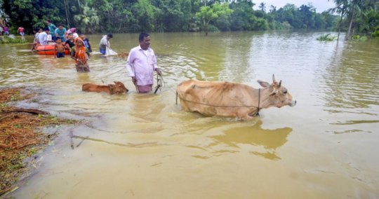 Massive Floods in India: Rahat Calling