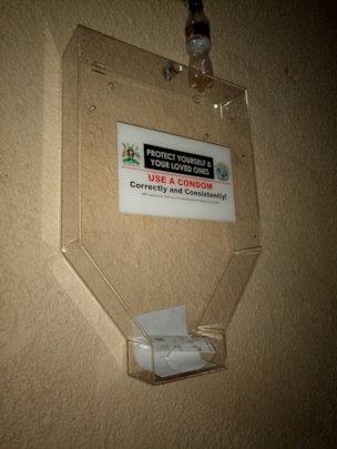 Condom Dispensers for condoms distribution