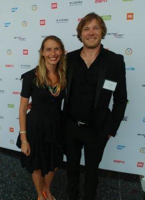 Beyond Sport Awards in New York, USA