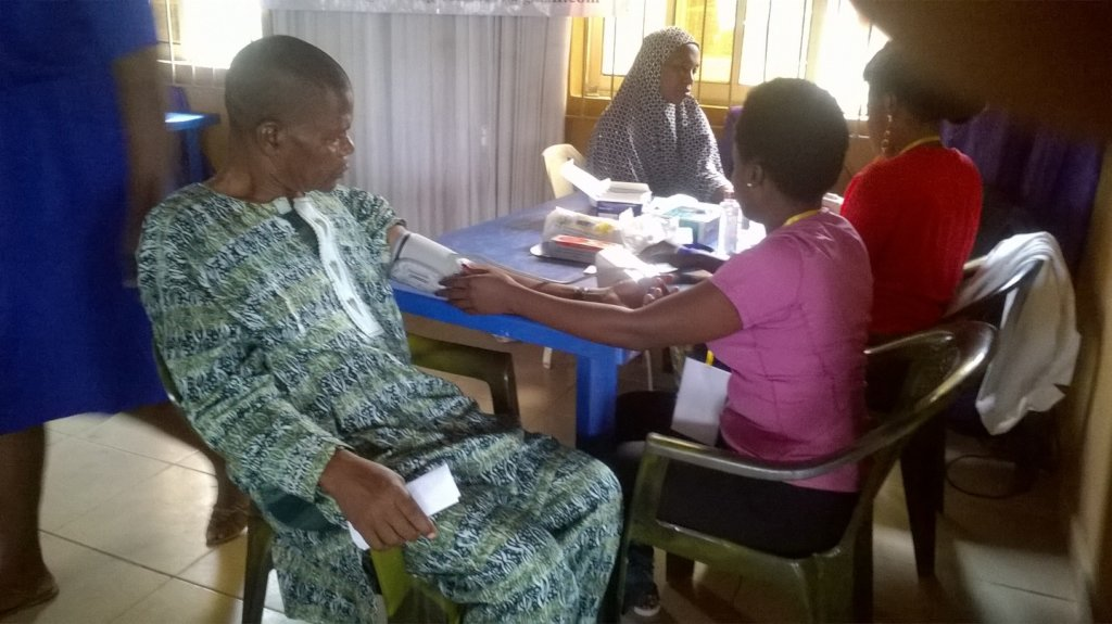 RESTORE HEALTH TO 5000 NIGERIANS WITH HYPERTENSION
