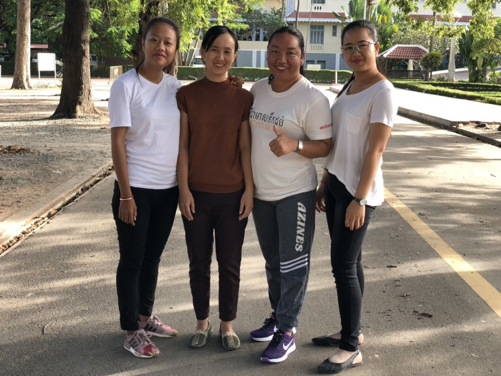 Running for women and girls in Cambodia