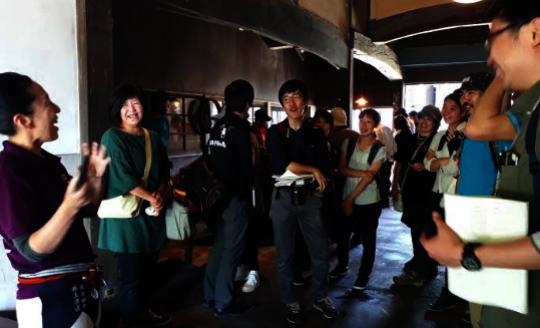 Hichiku Volunteer Center's Study Tour