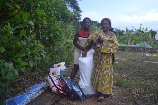 Distribution in Limbe