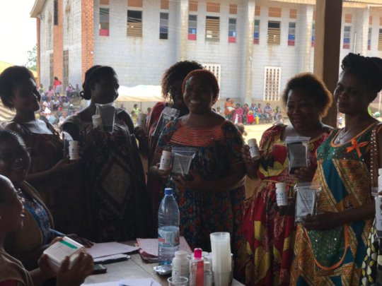 distribution of multivitamins to pregnant women