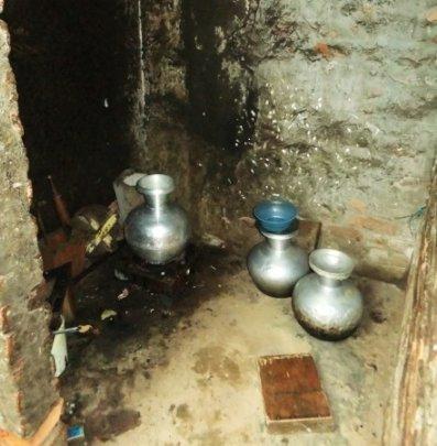 The kitchen of Jannatuls family