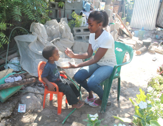 Project: Feed 75 children with low nutrition in Az