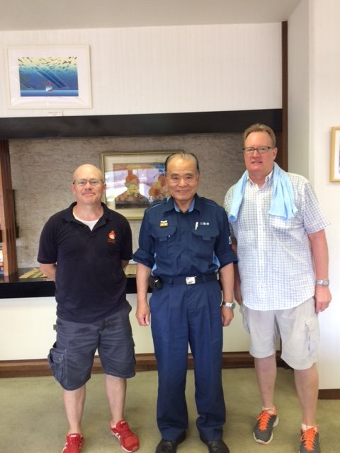 Support for flooding victims in Western Japan