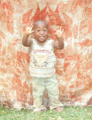 Akim is always cheerful