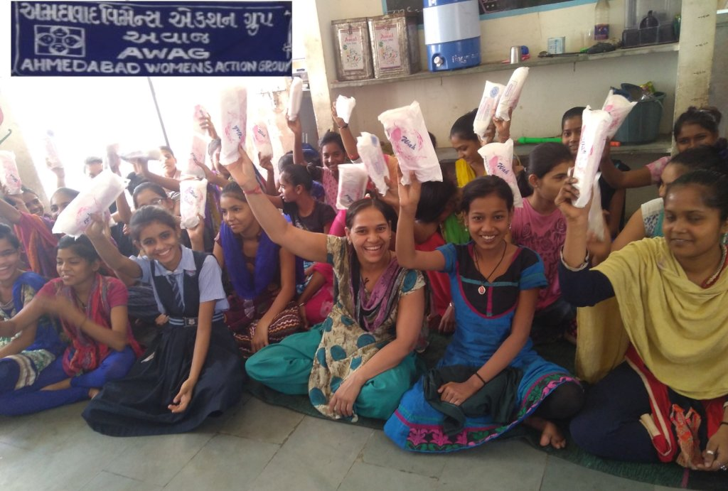 SUSTAINED MENSTRUAL PROTECTION FOR 700 GIRLS