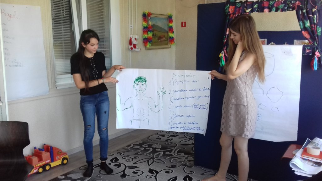 Educate young Moldovans in personal health