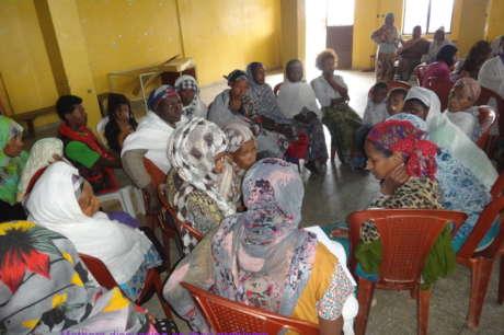 Raising income for 70 single Mom's living in slum