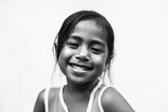 Putri - One of the Children who study in our Centr