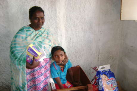 Sponsor medical expenses for disabled people