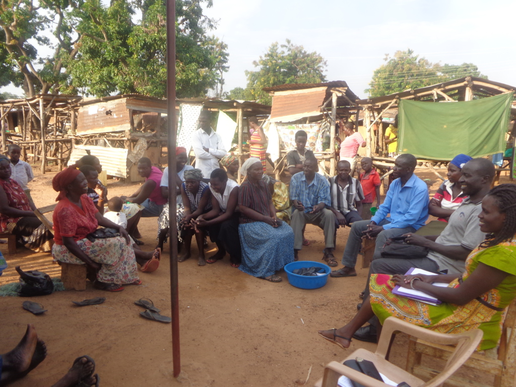 Group focu discusion at Camp Swahili