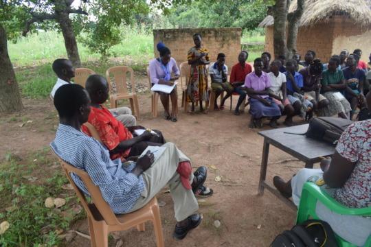 Group mentorship of girls