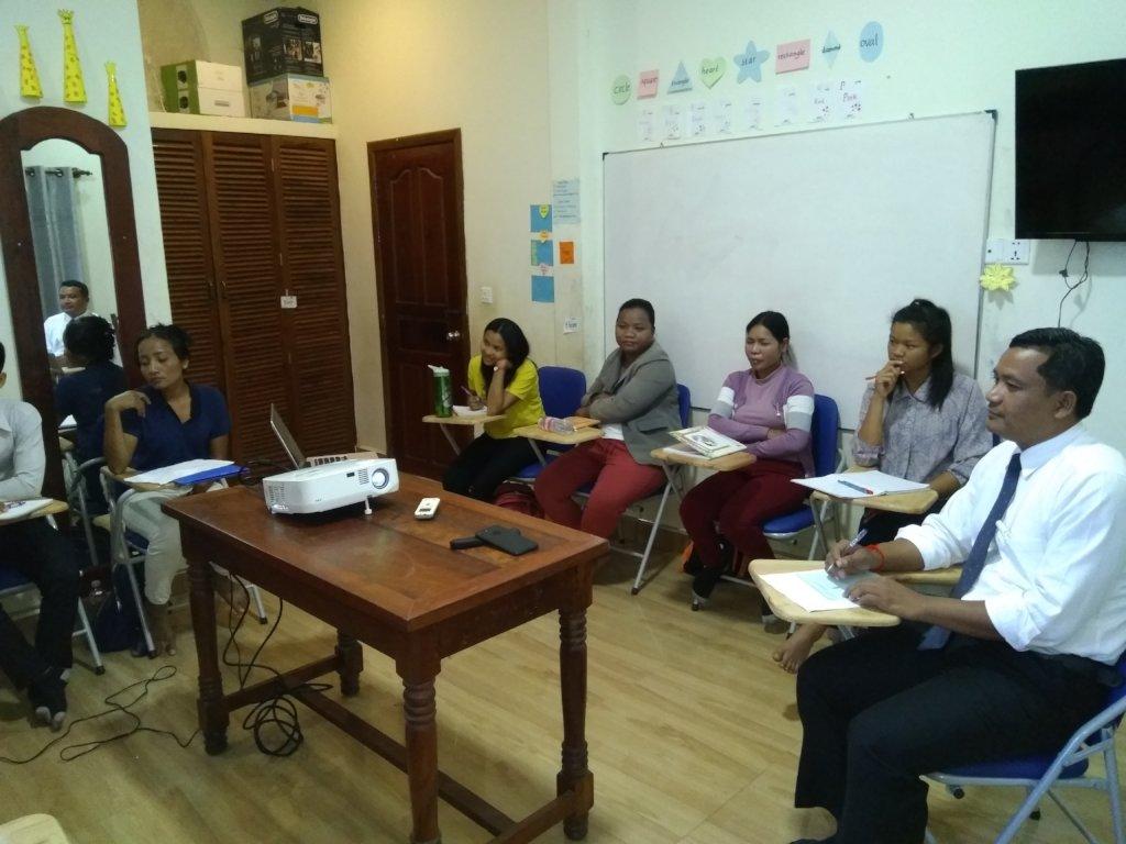 Train 250 English teachers in Cambodia!
