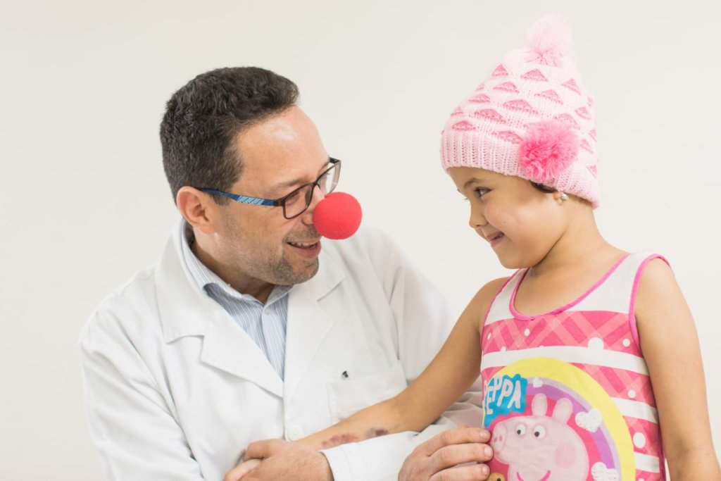 Give health to 60,000 sick children in Colombia
