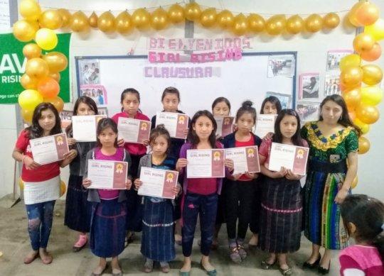 Girls' Graduation Ceremony!