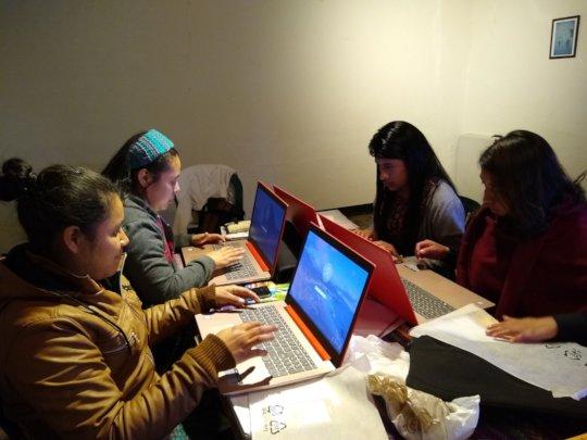 REDMI Mentors During Session