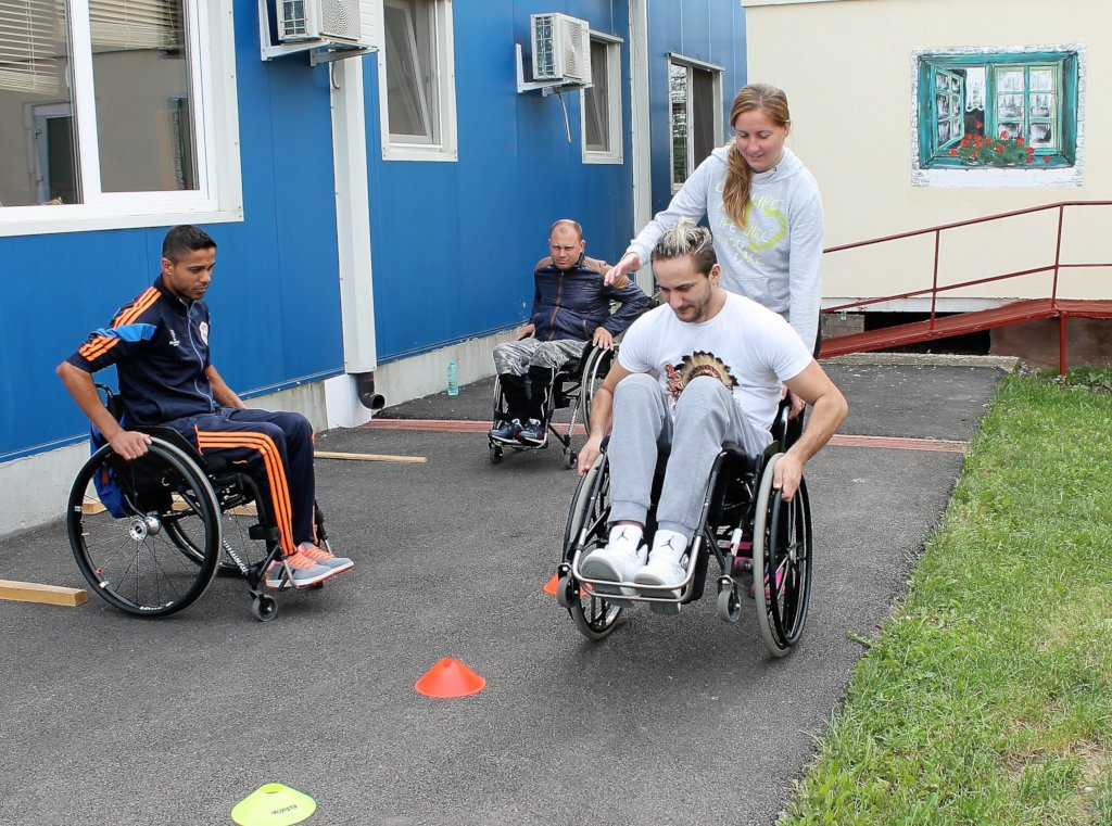 WheelchairFund for 100 Romanians with disabilities