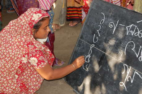 Help 40 women in Bangladesh to become literate