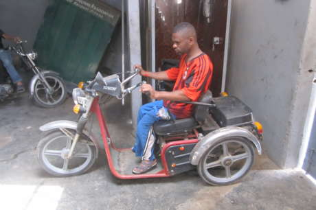 Mobility aids for 60 Karachiites with disability