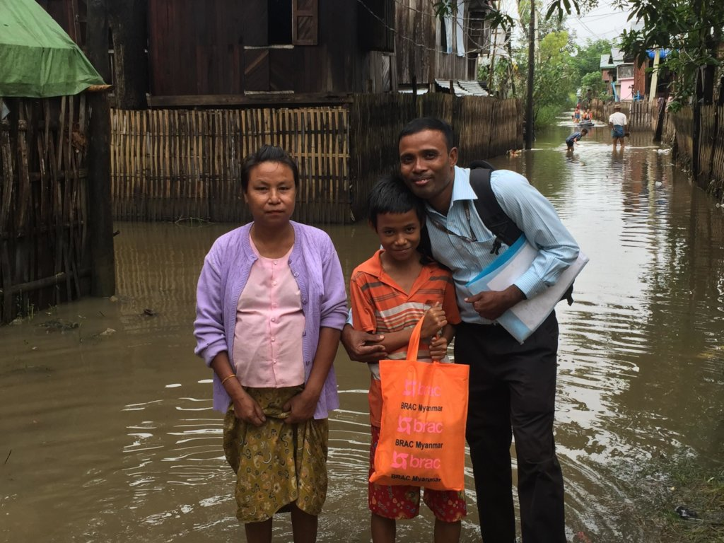 Emergency Support for Flood Victims in Myanmar